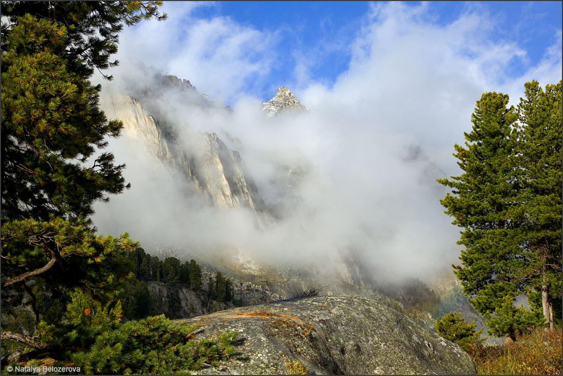 Туманы в долине Иолдо-айры