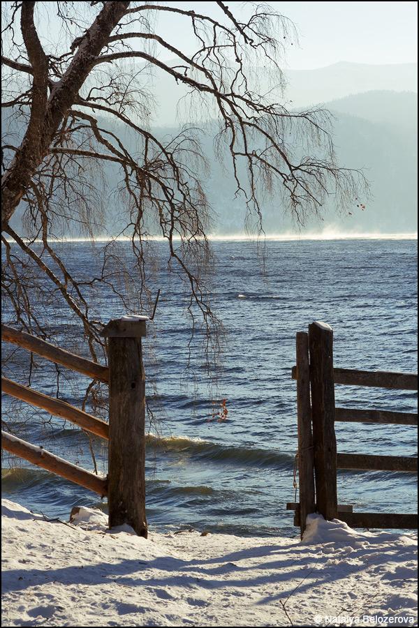 Побережье Телецкого озера в Яйлю