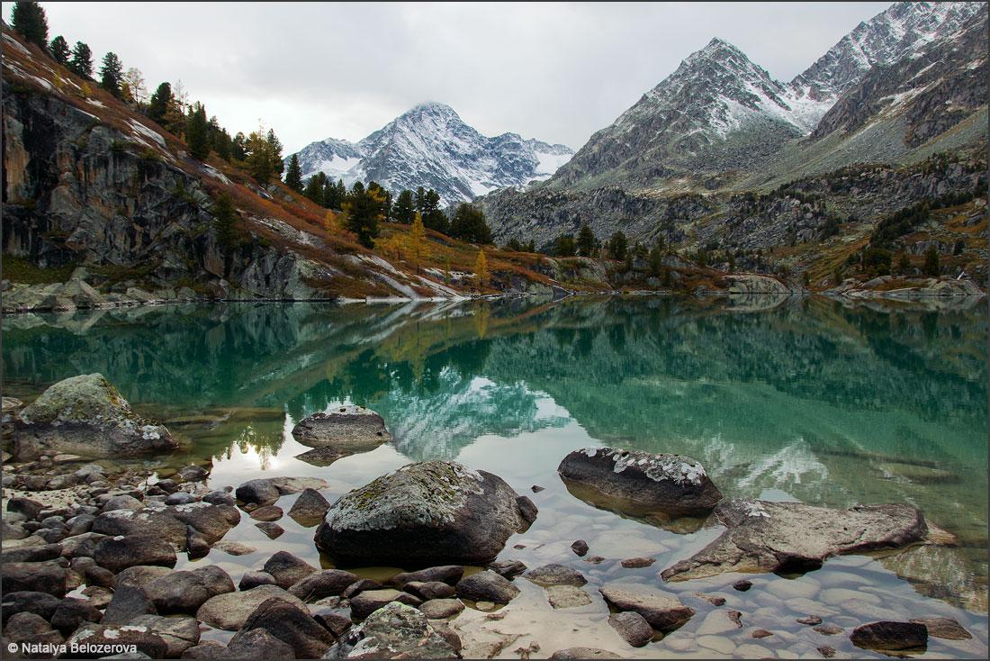 Вечернее озеро Дарашколь