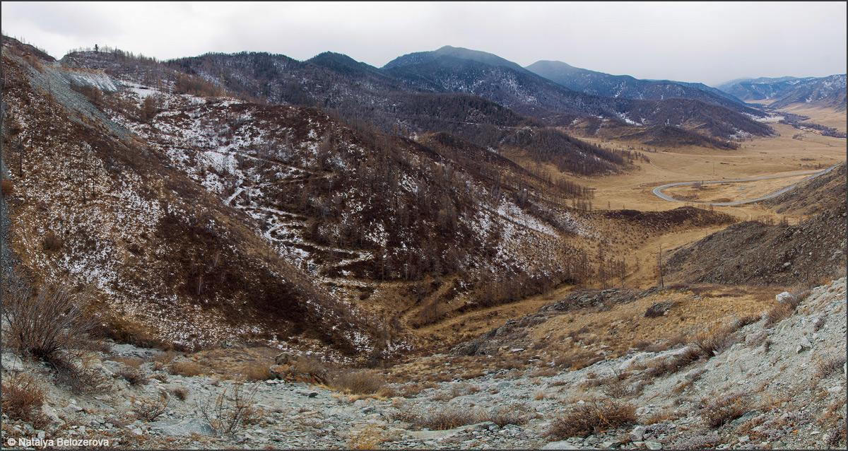 Перевал Чике-Таман. Старая дорога