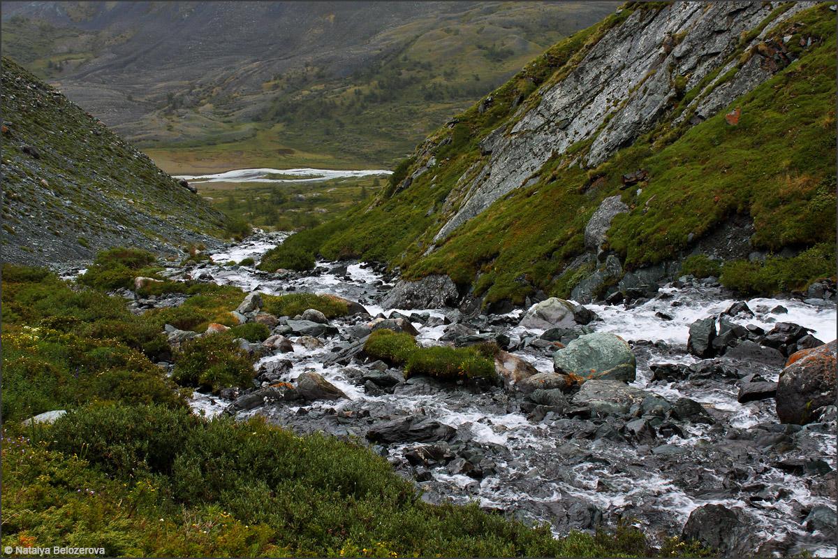 Долина Тура-оюк на спуске к Акколу