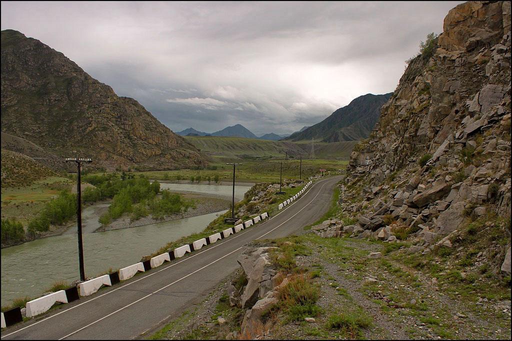 Долина Катуни у Малого Яломана