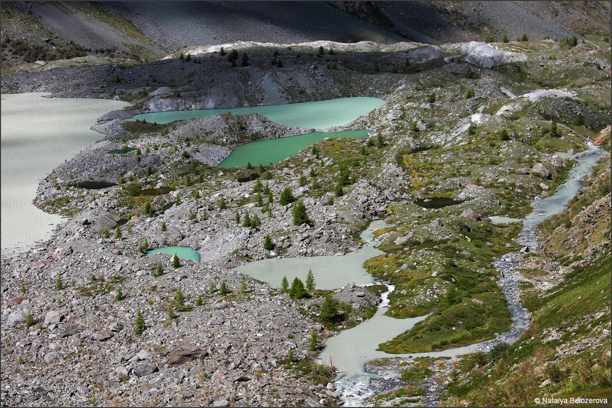 Моренные озера. Долина Аккола