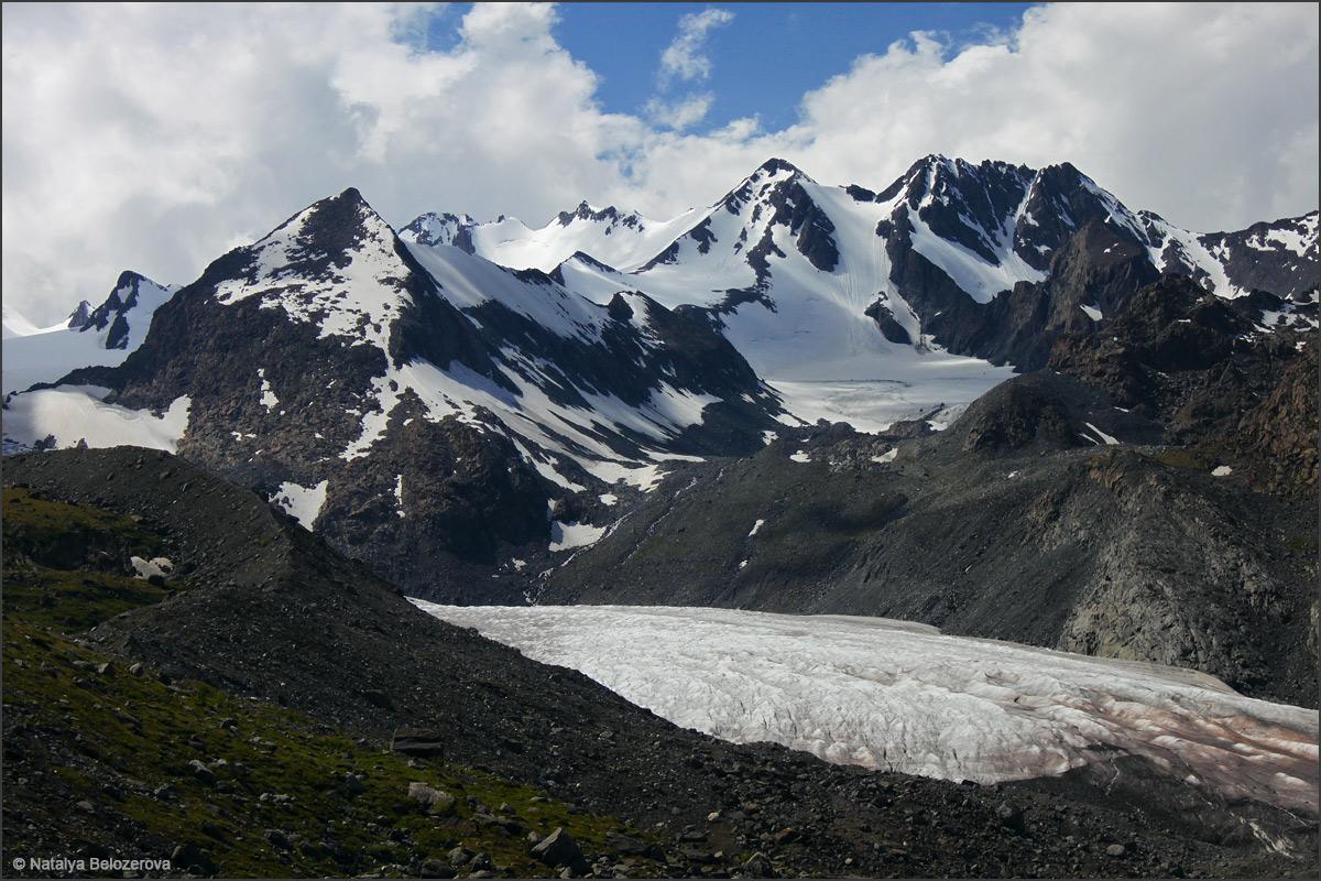 Верховья Аккола. Софийский ледник