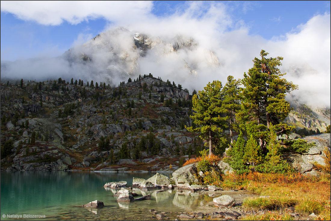 Туманы над озером Дарашколь
