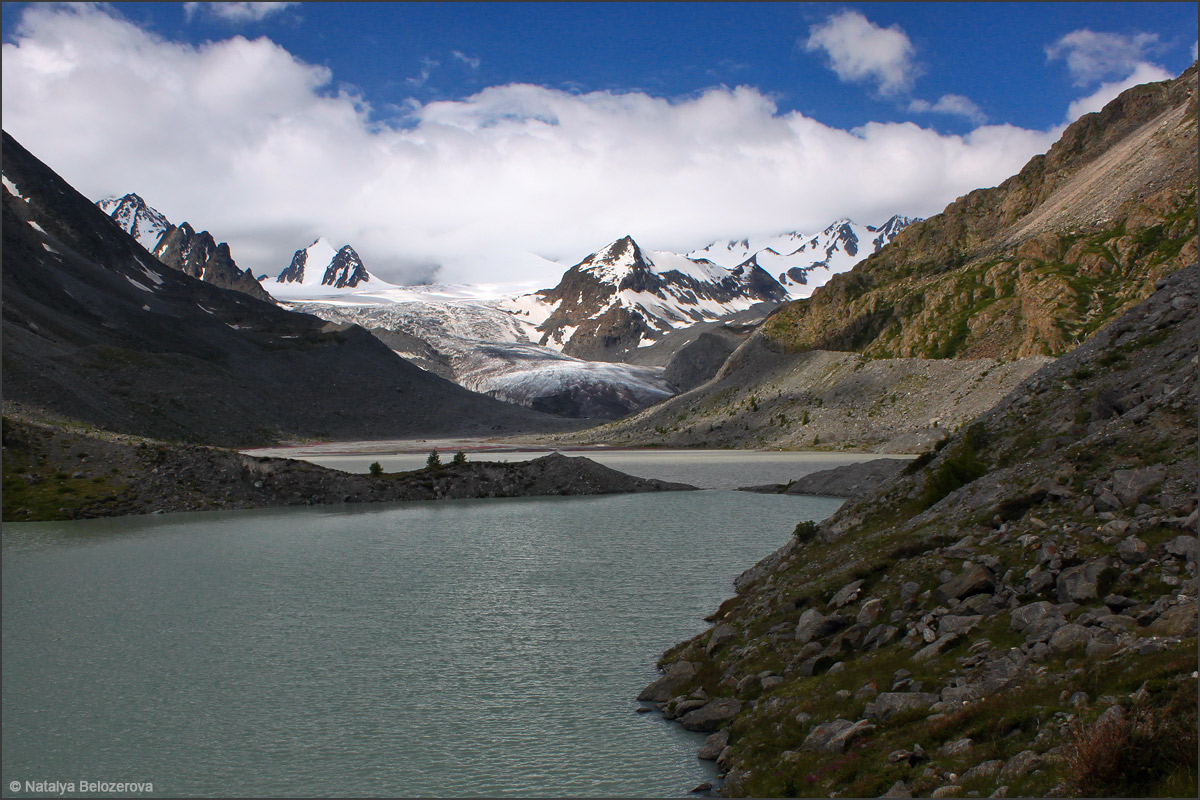 Долина Аккола. Софийский ледник