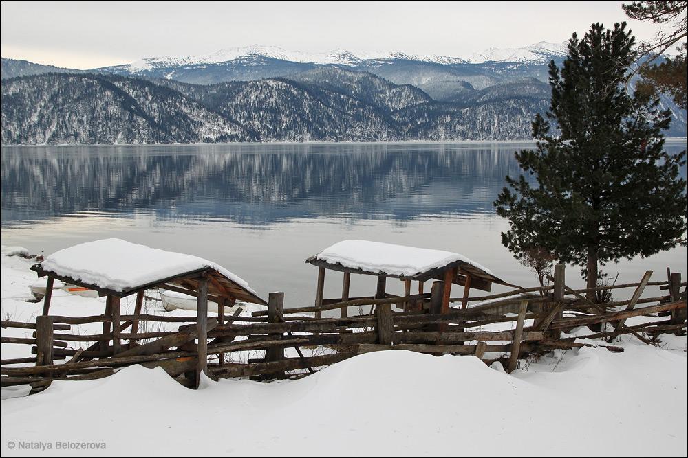 Озеро Телецкое в Яйлю
