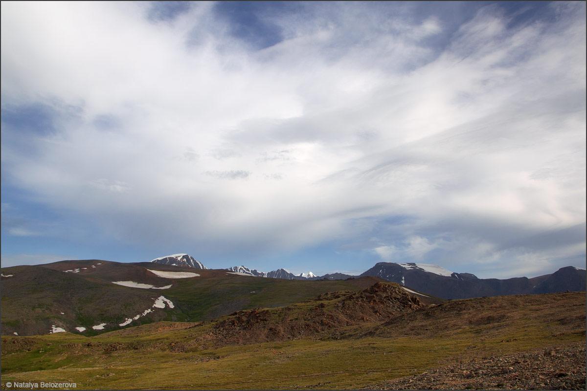 Вершина СЧХ с перевала Карагем