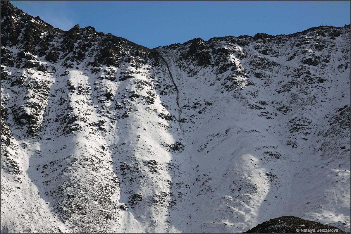 Перевал близ вершины Талдуайр