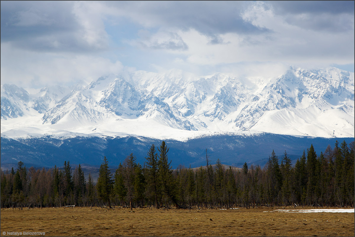 Северо-Чуйский хребет в мае