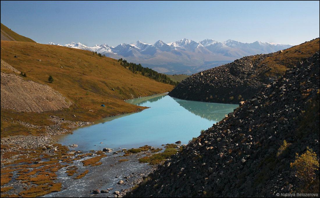 Первое озеро Каракабак