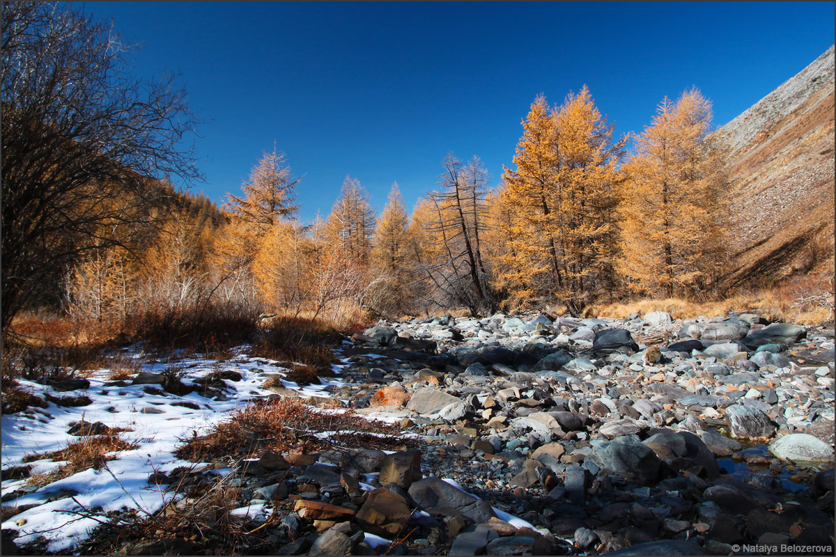 Долина Сайлюгем. Хребет Чихачева