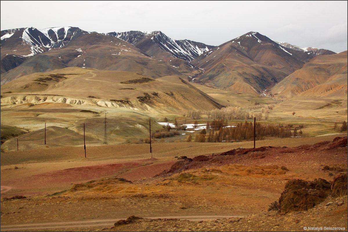 Курайский хребет. Долина Тыдтуярык