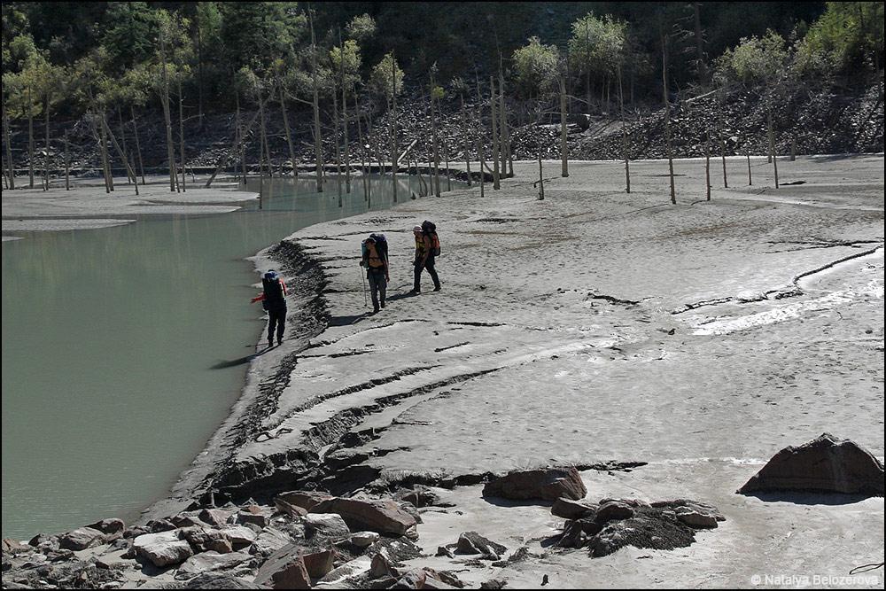 Дно бывшего озера Маашей