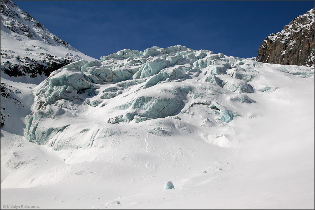 Ледопад на Малом Актру