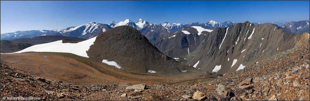 Перевал Эренбурга и долина Паспалагачиоюк