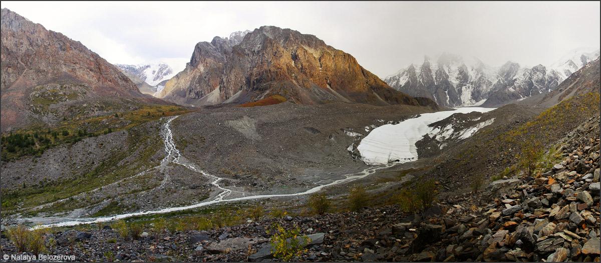 Долина Мажоя и ледник Маашей