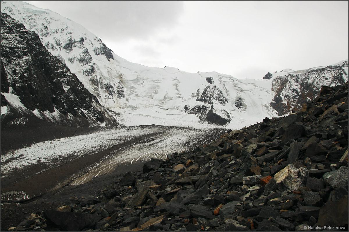 Ледник под перевалом Надежда