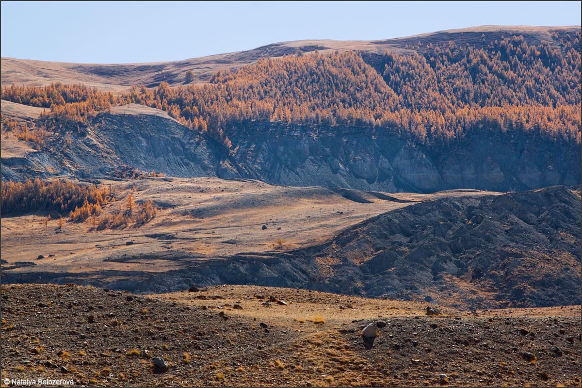 Арка-узук. Талдуринский оползень в долине Талдуры