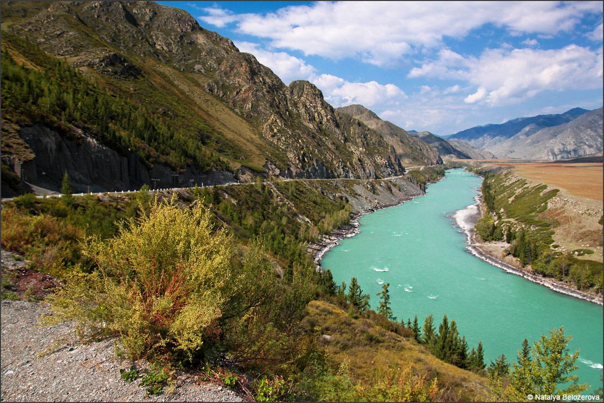 Долина Катуни 688-й км Чуйского тракта