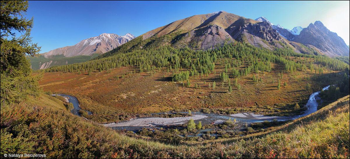 Долина Каракабак на спуске к Мажою