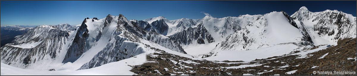 Панорама с вершины Юбилейная