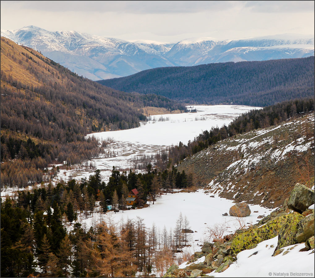 Долина Актру и озеро Сачки