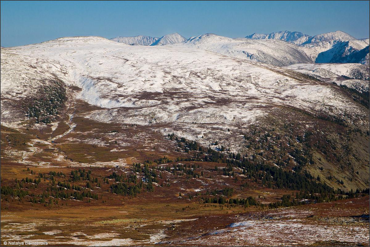 Альбаган с Аккаинского перевала