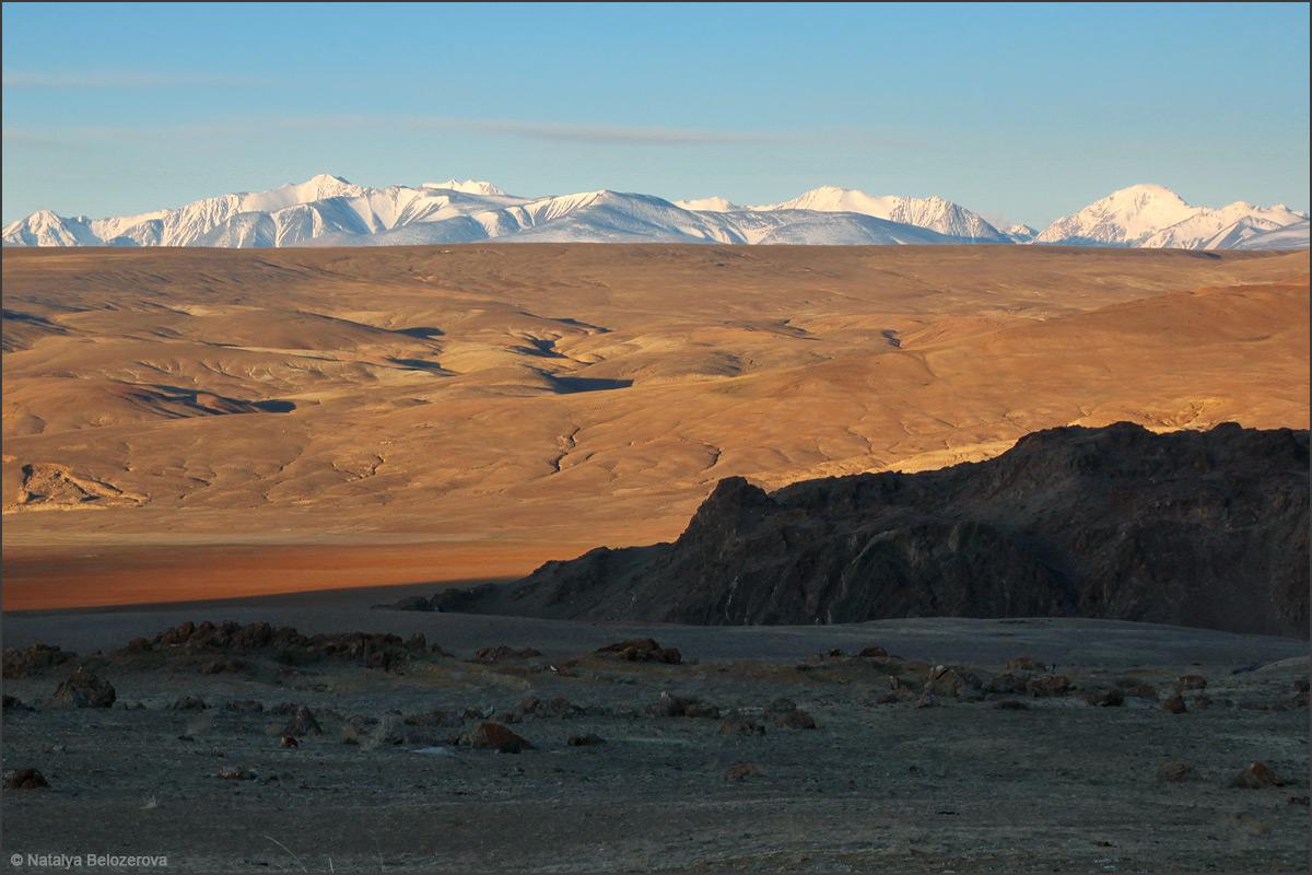 Южно-Чуйский хребет из долины Тыдтуярык