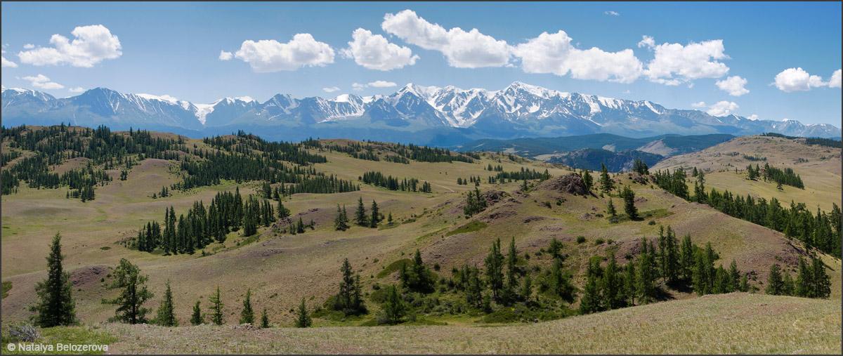 Северо-Чуйский хребет и Курайская степь