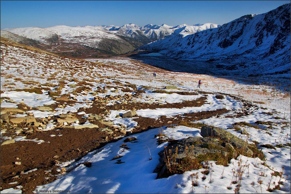 Долина Аккаи с Аккаинского перевала