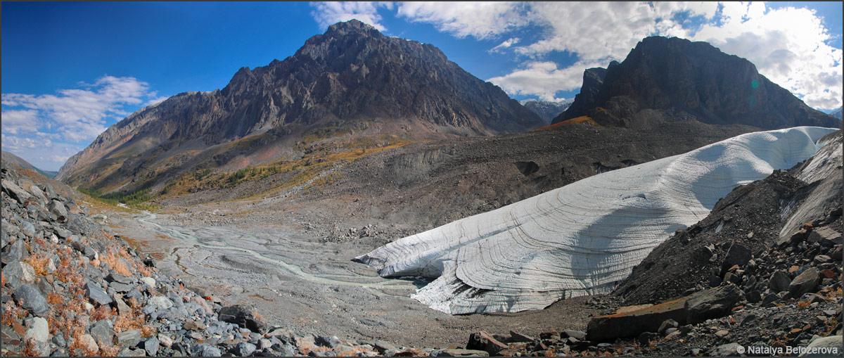 Ледник Маашей. Длина Мажоя
