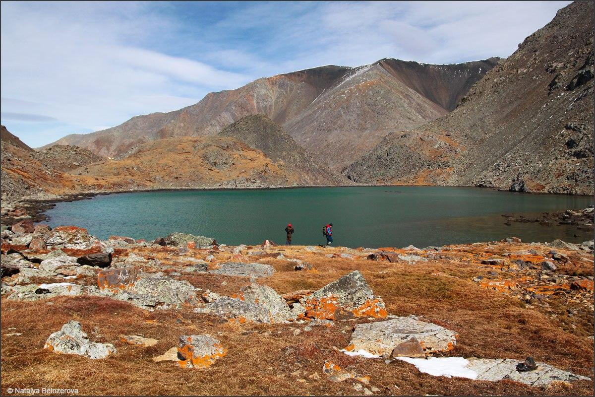 Озеро под вершиной Талдуайр