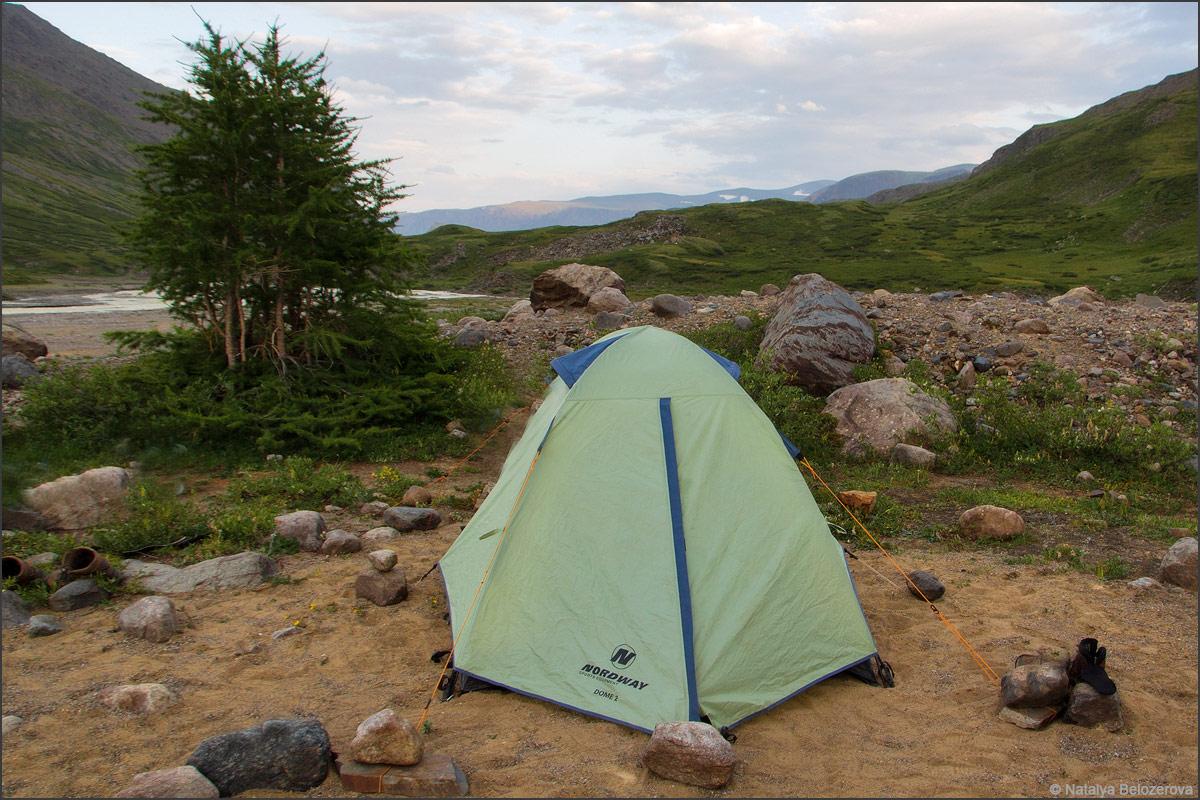 Лагерь в долине Джело