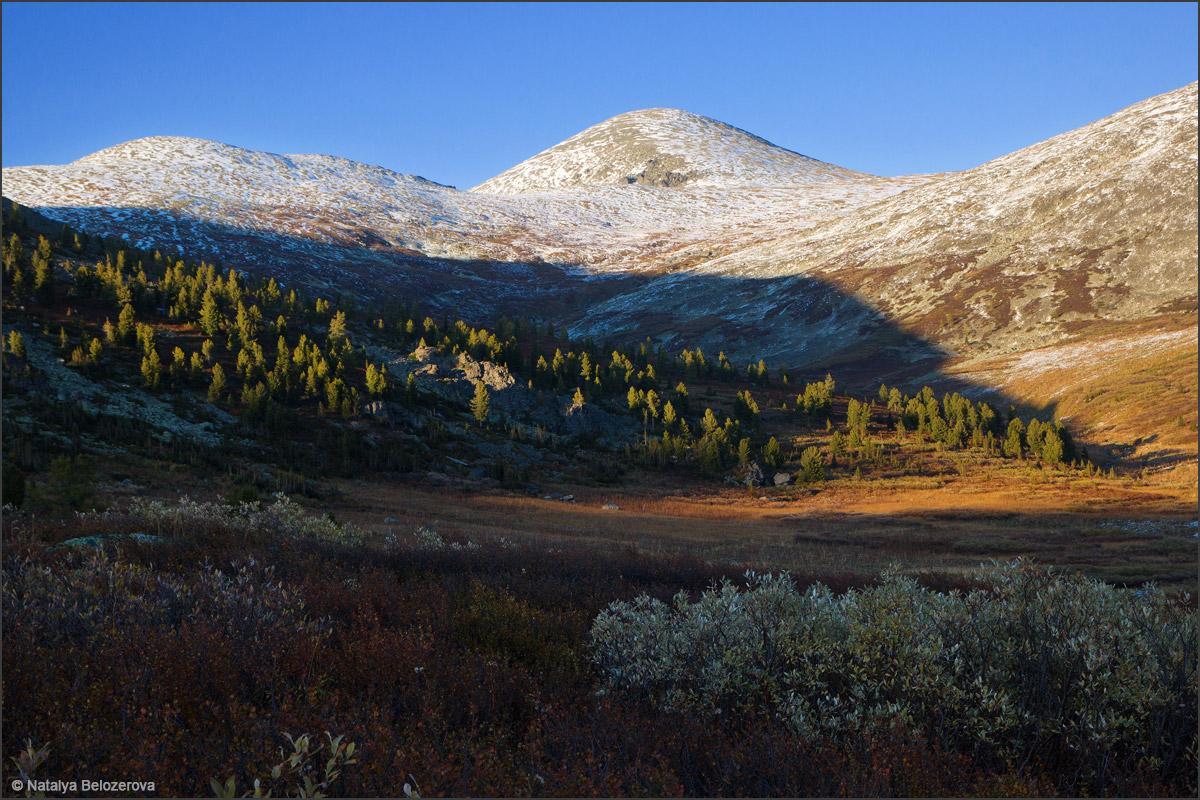 Гора Аккая из долины Аккаи