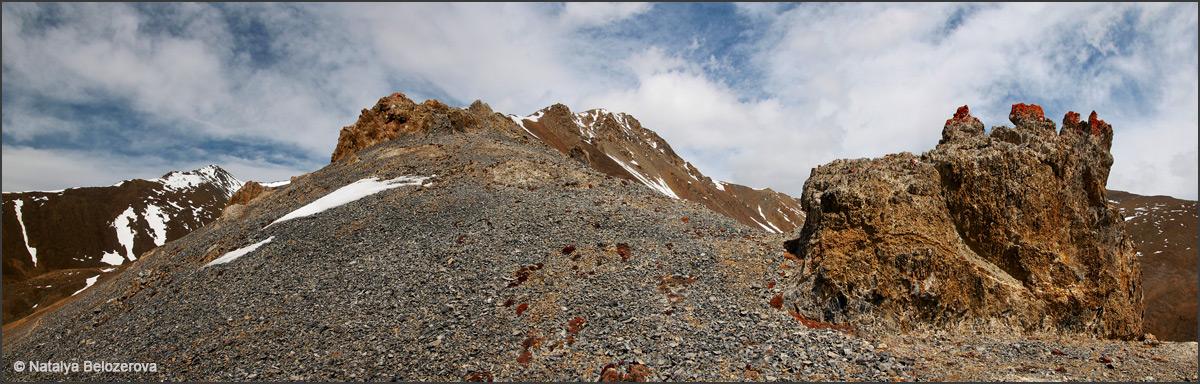 Гребень на вершину Тыдтуярык