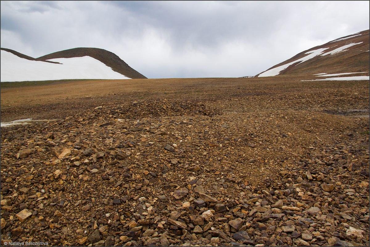 Плато под перевалом Эренбурга
