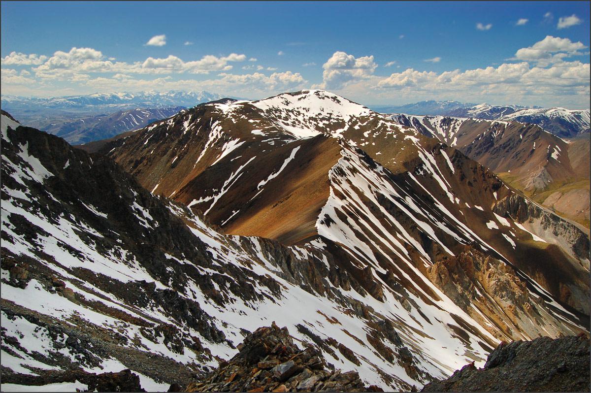 Курайский хребет с верховий левого притока Тыдтуярык