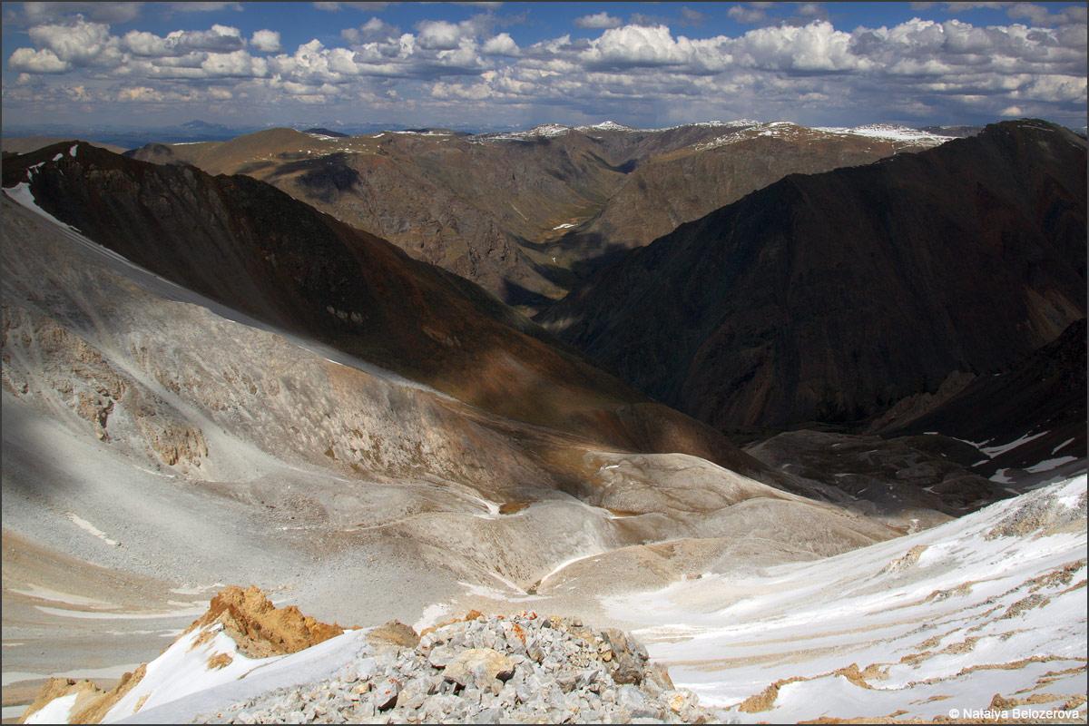 Северные склоны Курайского хребта с верховий Тыдуярык