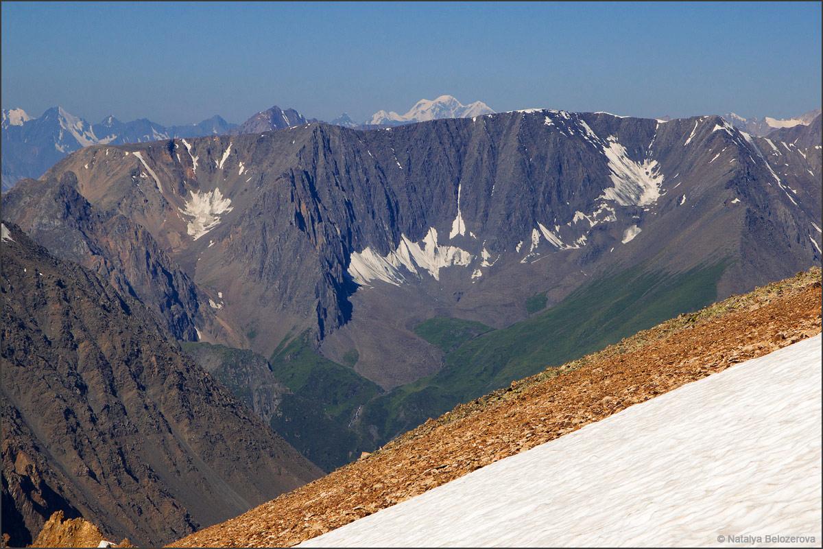 Белуха с гребня близ перевала Томич