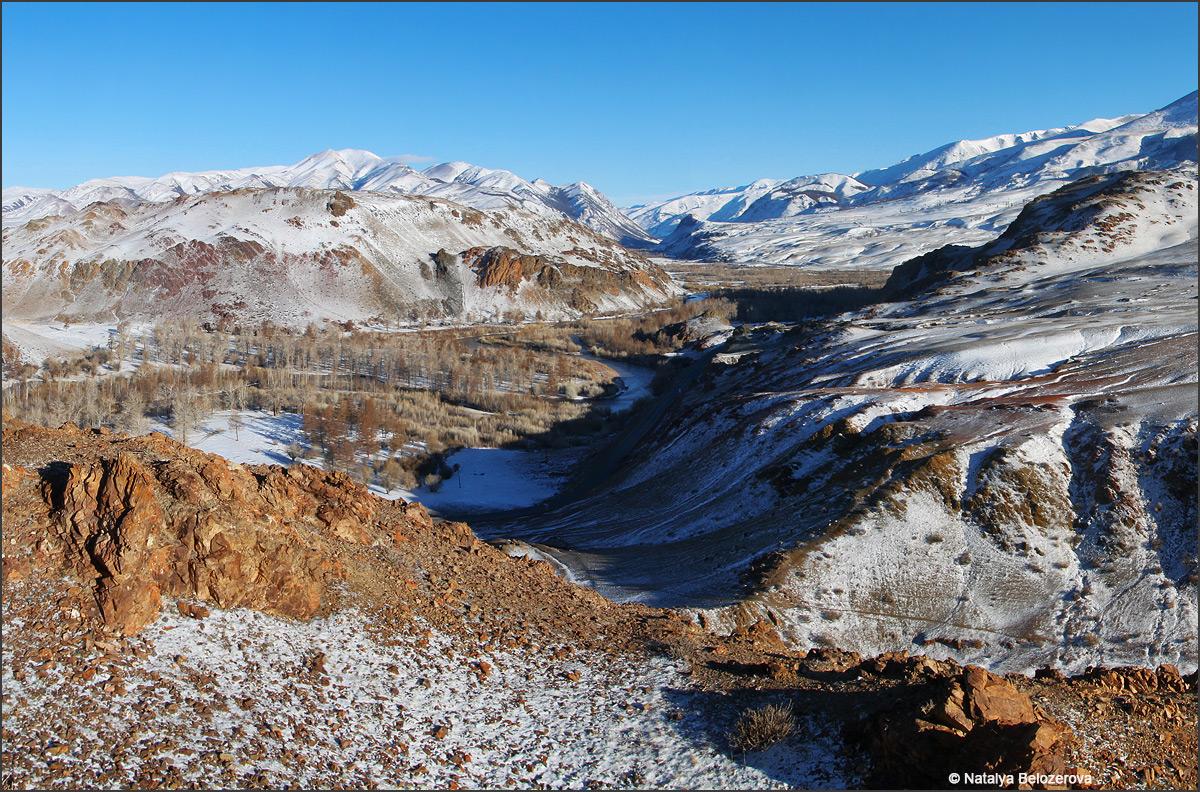 Долина Чуи с Красной горки