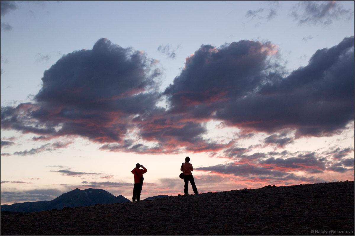 Закат над долиной Тыдтуярык