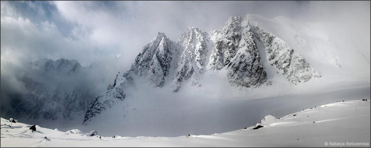 Долина Актру. Ледник Большой Актру