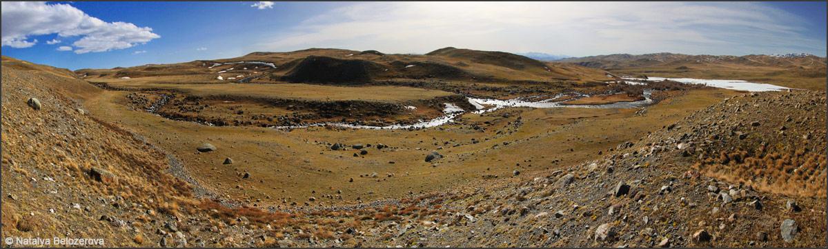 Чуйская степь. Долина Богуты
