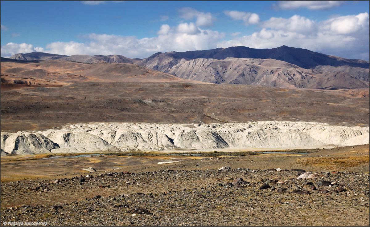 Чуйская степь. Долина Чаган-узуна
