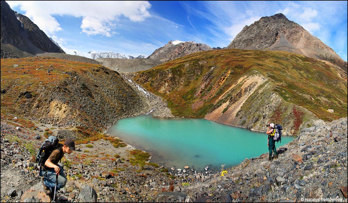 Озеро в верховьях Мажоя