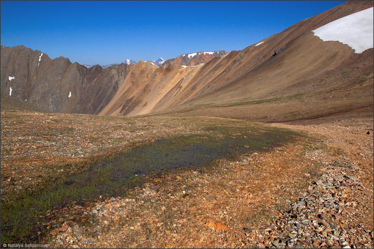 Перевал Томич с перевала Эренбурга