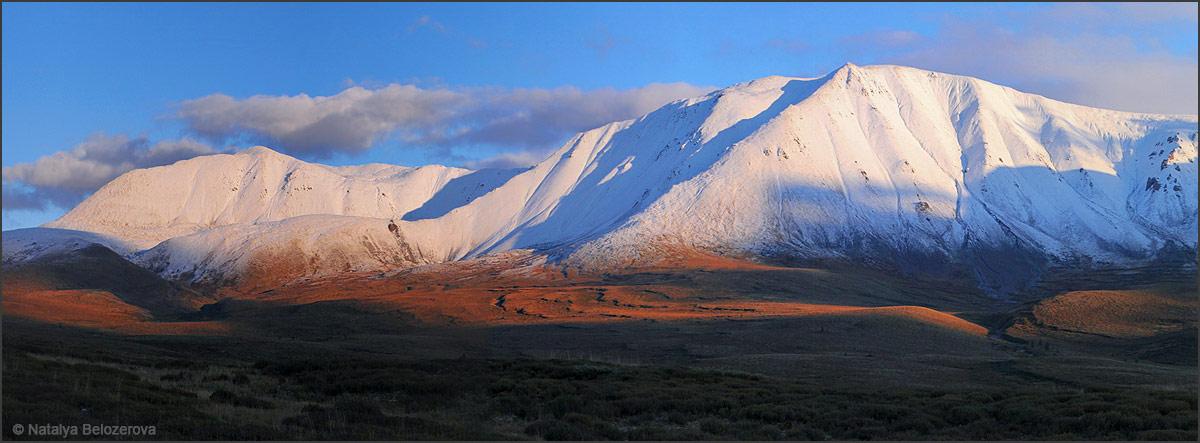 Закат на плато Ештыколь