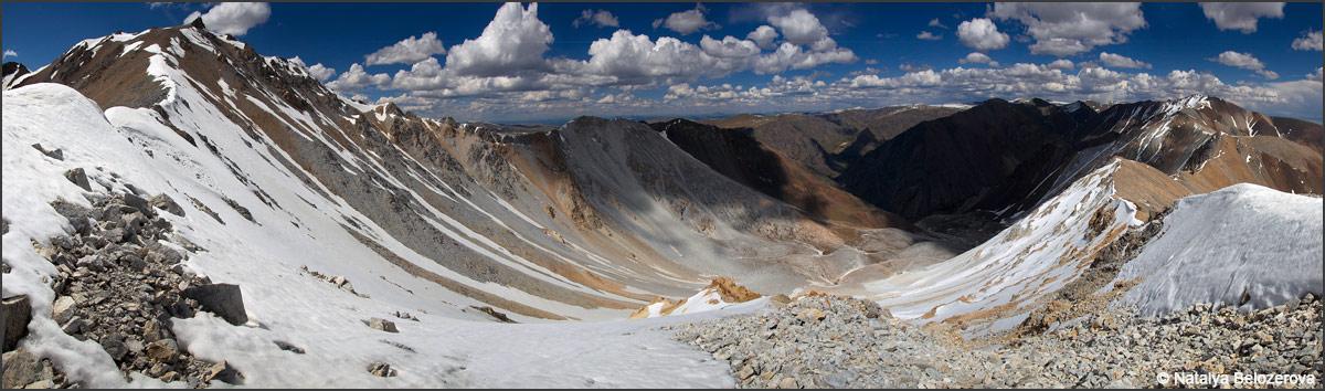 Северные склоны Курайского хребта с верховий Тыдтуярык